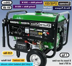 DuroMax XP4850EH Hybrid Portable Dual Propane Gas Generator