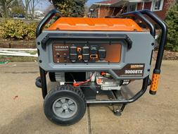 Generac XT8000E 8,000 Watt Portable Gas Power Electric Start